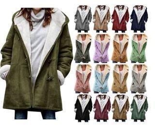Fleece Winter Down Coats