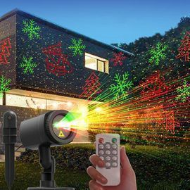 Christmas Laser Outdoor Lights
