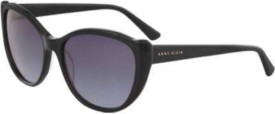 Ann Klein Women's Round Cat Eye Sunglasses