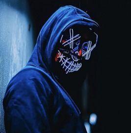 Purge Halloween LED Mask