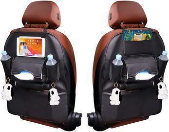 PU Leather Backseat Car Organizers