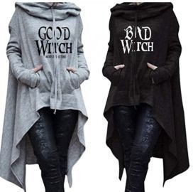 Good Witch Bad Witch Halloween Pullover
