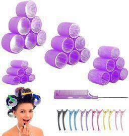 24 Packs Hair Rollers Set