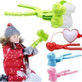 Snowball Maker Clip Toy