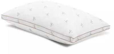 Calvin Klein Monogram Logo Medium Support Cotton Pillow