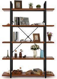 5 Tier Industrial Bookshelf