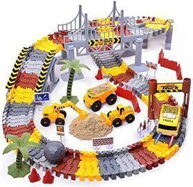 Mixi Construction Race Track