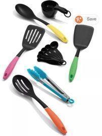 Cuisinart Curve 15-Pc. Kitchen Tool Set