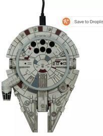 Star Wars Millennium Falcon 10W Wireless Charger w/ AC Adapter