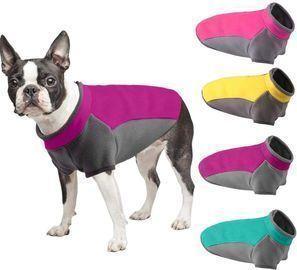 Stretch Dog Fleece Vest Jackets
