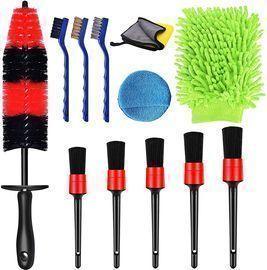 12 Pcs Car Detailing Brushes Sets