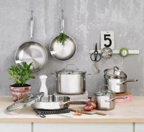 Calphalon Classic 10-Piece Stainless Steel Cookware Set