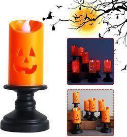 Halloween Pumpkin Candle Light