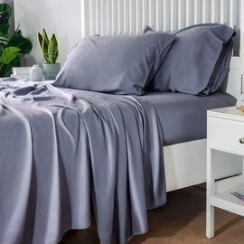 100% Bamboo Sheets Set - Queen Grey