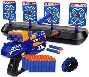Digital Shooting Targets with Foam Darts