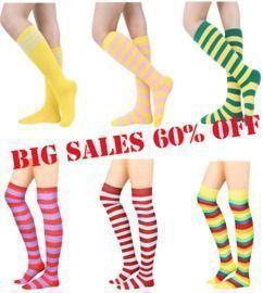 Thigh High & Knee High Socks
