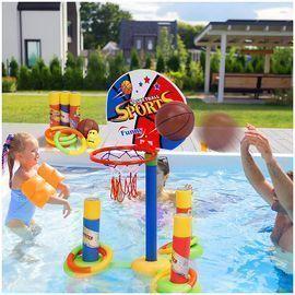 Starpony Firmament Pool Basketball Hoop Set
