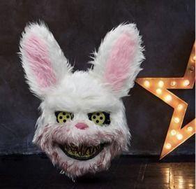 Halloween Creepy Bloody Bunny Mask