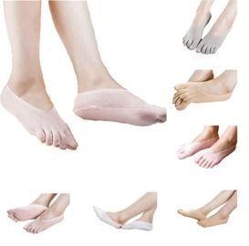 Women's Five-toed Boat Socks