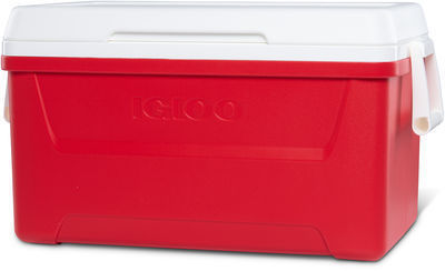 Igloo 48 qt. Laguna Ice Chest Cooler (Red)