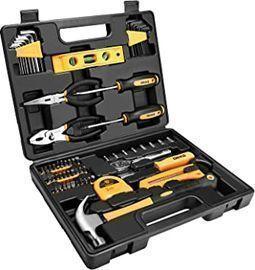 Dekopro 65pc. General Household Tool Kit w/ Storage Case