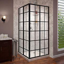 DreamLine French Corner Framed Sliding Shower Enclosure