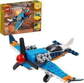 Lego Creator 3-in-1 Propeller Plane Flying Toy Building Kit