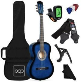 38 Beginner Acoustic Guitar Set