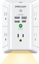 Outlet Extender with Night Light