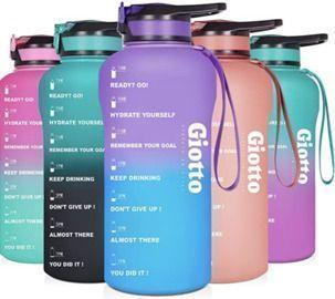 Large Half Gallon/64oz Motivational Water Bottle