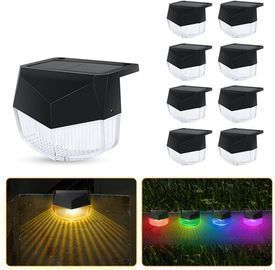 Solar Fence Lights Outdoor 8 Pack