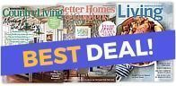 50% Off Country Living + Better Homes & Gardens + Martha Stewart Bundle For $8.98