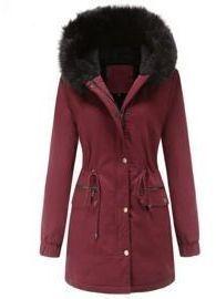 Faux Fur Lining Coats