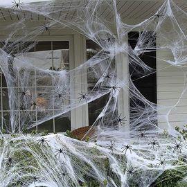 1000 sqft Spider Web Halloween Decorations