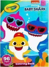 Crayola Baby Shark Coloring Book