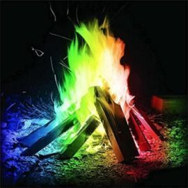 Funky Flames Color Changing Packets for Fire Pit