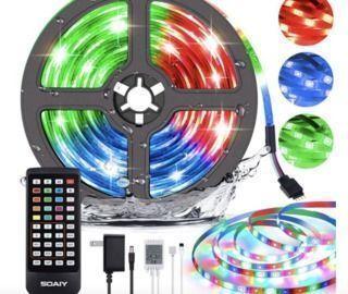 LED Lights Strip + IR Remote Control