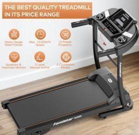 1.5HP Treadmill + Knee Strap
