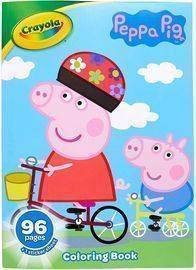 Crayola Peppa Pig Coloring Book with Stickers