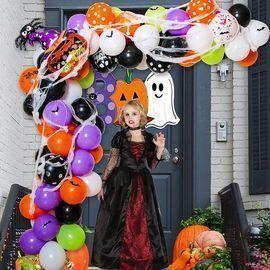 Halloween Balloon Garland Decoration