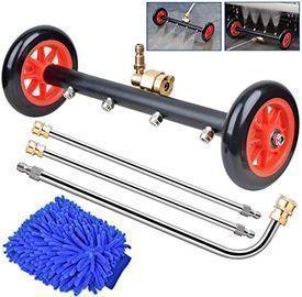 Warmq 16 Undercarriage Pressure Washer & Water Broom Attachment w/ Wash Mitt