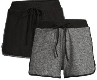 No Boundaries Juniors Dolphin Shorts - 2-Pack