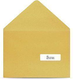 Amazon Basics Fast Peel Address Labels for Laser/Inkjet Printers, 3000ct