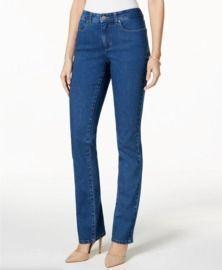 Charter Club Lexington Tummy Control Straight-Leg Jeans