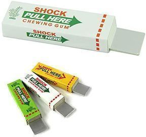 1PC Shocking Chewing Gum Novelty Toys