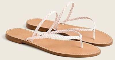 Capri Braided-Strap Flip-Flops