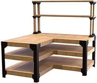 2x4basics Custom Workbench & Shelving Storage System (90164)