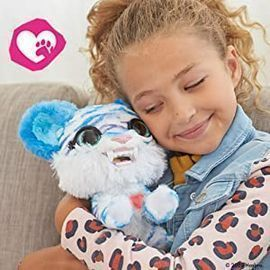 furReal North The Sabertooth Kitty Interactive Plush Toy