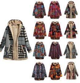 Floral Print Hooded Outerwear