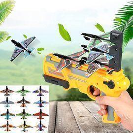 10 PCS Bubble Catapult Plane